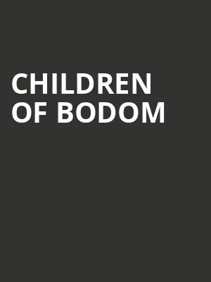 Children of Bodom at Mr Smalls Theater